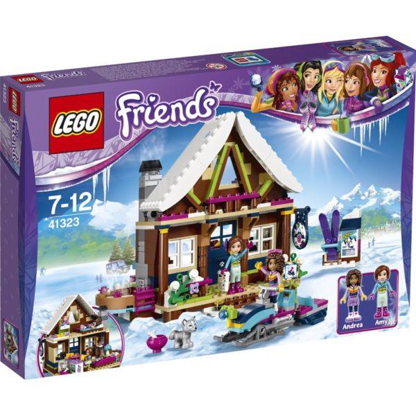 LEGO Friends41323 LEGO® Friends Vinterdestinasjon ? hytte