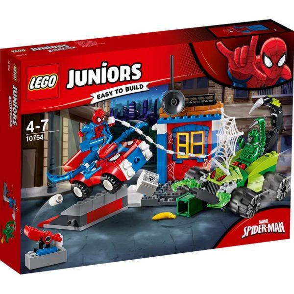 LEGO Juniors10754 LEGO® Juniors Spider-Man vs. Scorpion Street Showdown