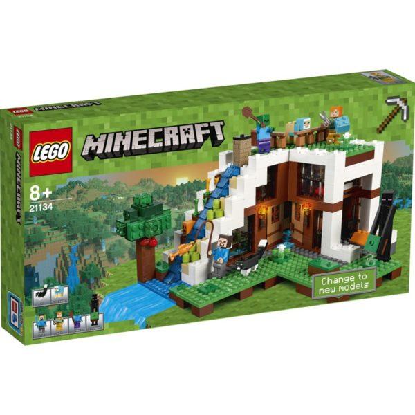 LEGO Minecraft21134, Fossens fot