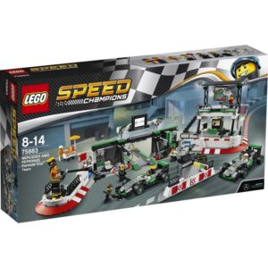 LEGO Speed Champions75883, MERCEDES AMG PETRONAS Formula One Team