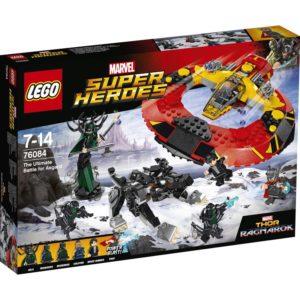 LEGO Super Heros76084, Sluttoppgjøret om Åsgard