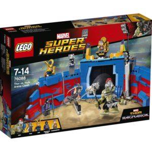LEGO Super Heros76088, Tor mot Hulk, Oppgjør på arenaen