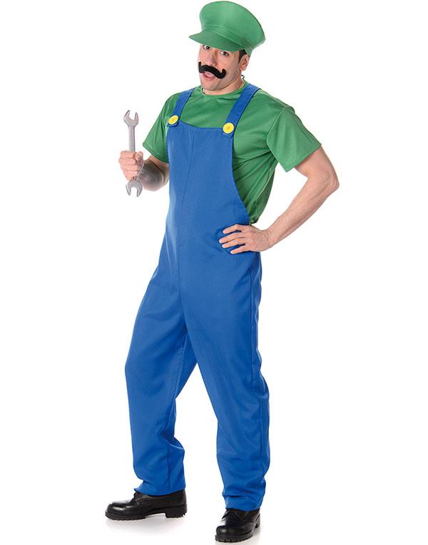 Luigi Inspirert Herrekostyme