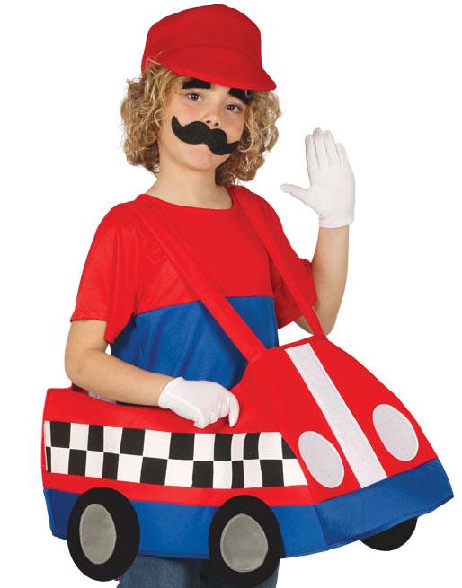 Mario Cart Inpirert Kostyme til Barn