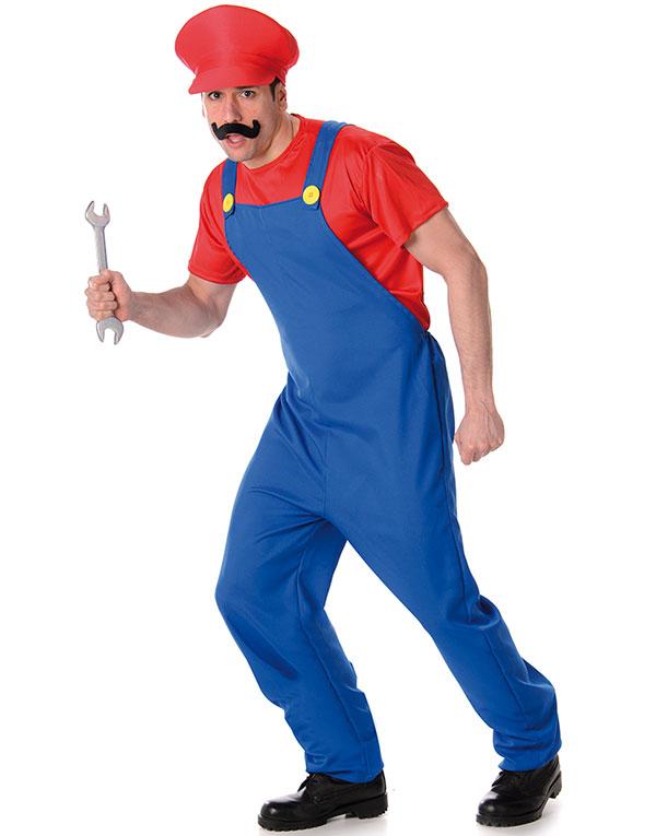 Mario Inspirert Herrekostyme