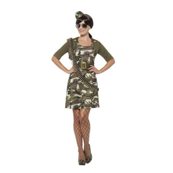 Militær Kjole Kostyme - XS