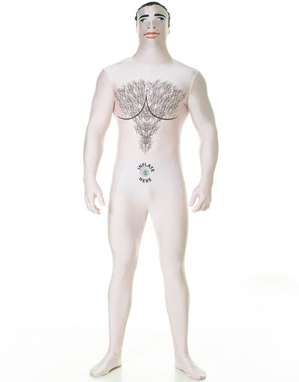 Morphsuit Male Blow Up Doll Kostyme