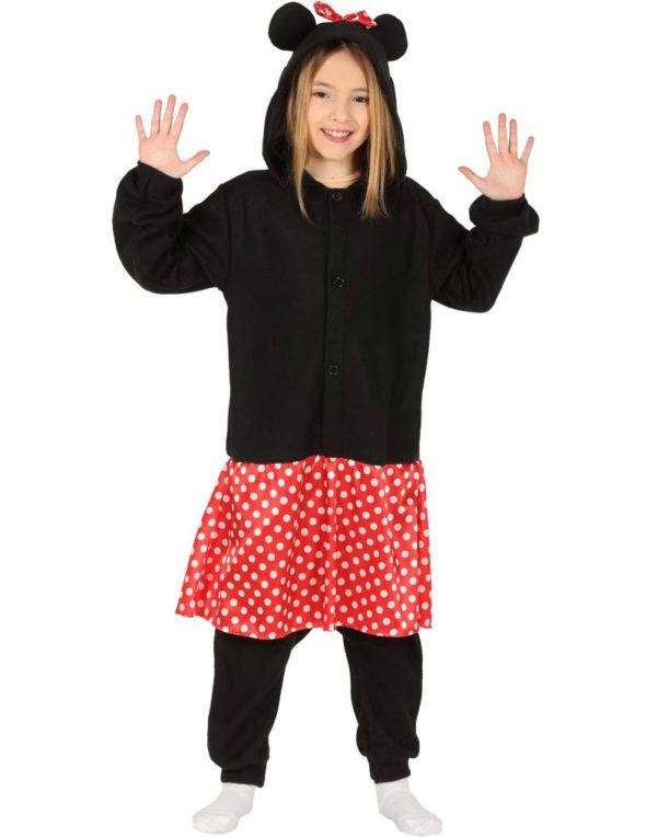 Mus Kigurumi Kostyme til Jente