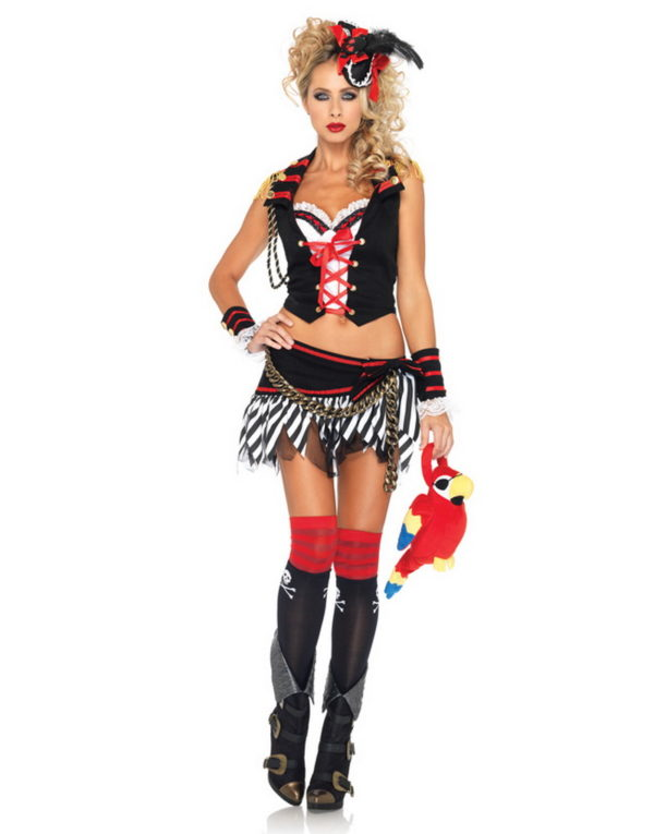 Nådeløs Piratdame - Kostyme
