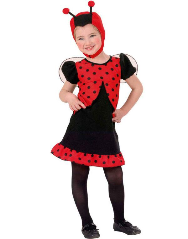 Nusselig Marihøne Barnekostyme