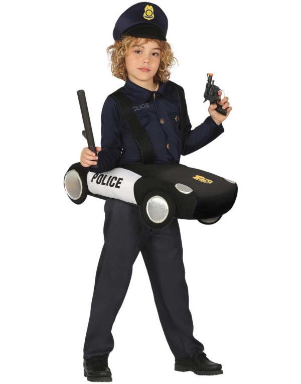 Politibil Kostyme til Barn