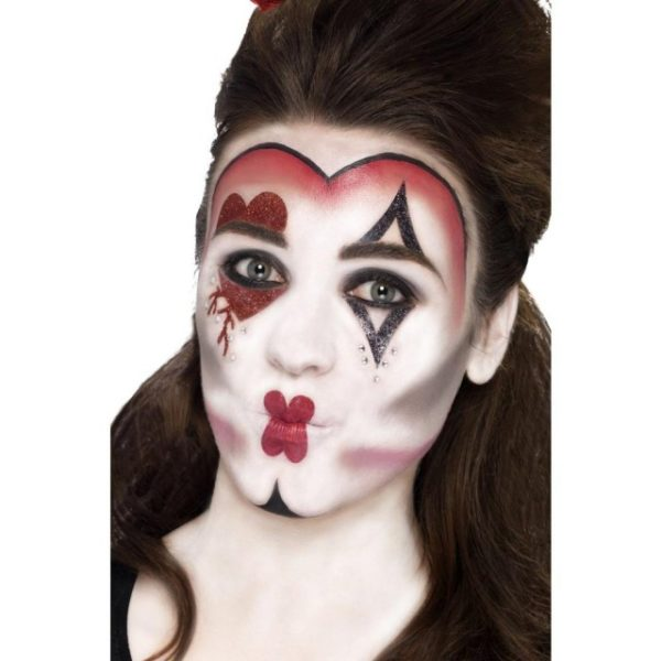 Queen Of Hearts Make-Up Sett