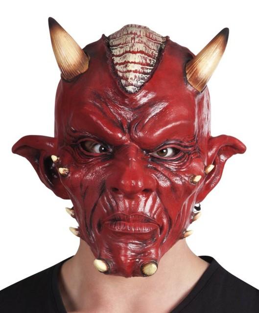 Rød Djevel Maske