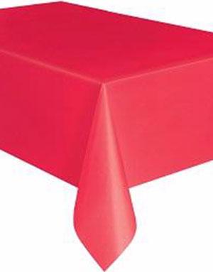 Rød Plastduk 137x274 cm