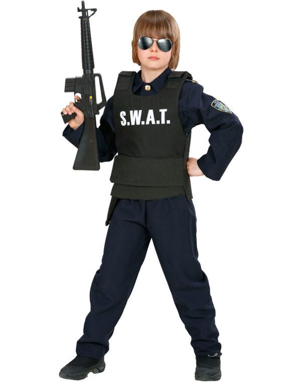 S.W.A.T Kostymevest til Barn