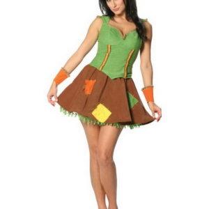 Sassy Scarecrow Kostyme