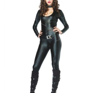 Sexy Catwoman Inspirert Luksuskostyme