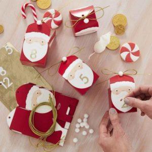 Silly Santa Julekalender Bokser 24 stk.