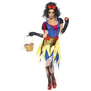 Snehvit Halloween Kostyme - S