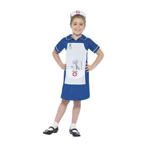 Sykepleier Barnekostyme L