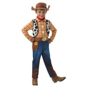 Toy Story Woody Barnekostyme 7-8 ÅR