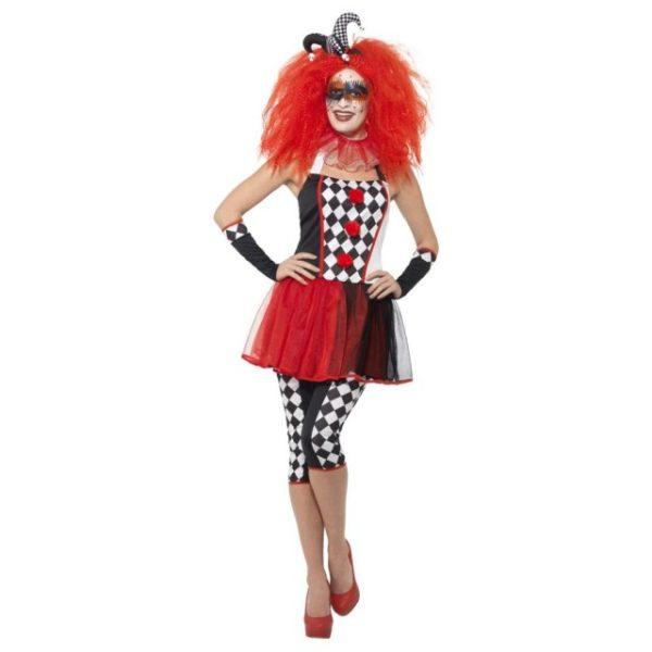 Twisted Harlequin Kostyme - L