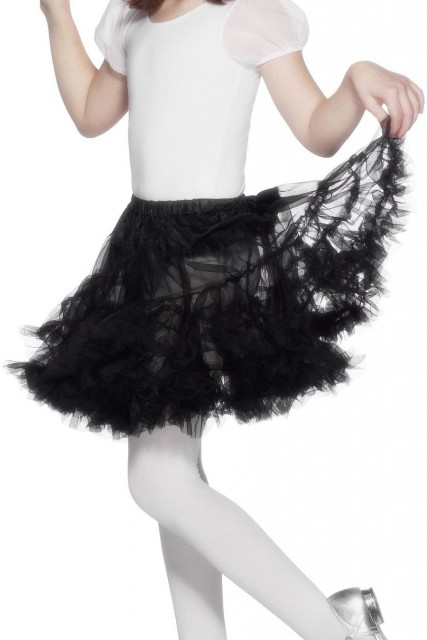 Underskjørt Svart Petticoat Barn