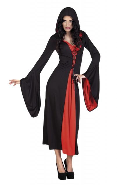 Vampyr Kostyme Dame Medium
