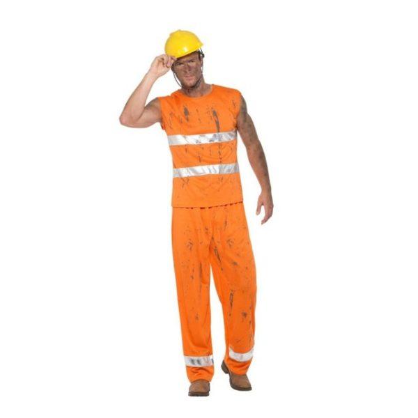 Veiarbeider Kostyme - M