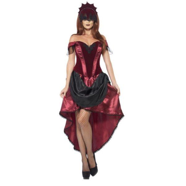 Venetiansk Maskeradeball Kostyme - L