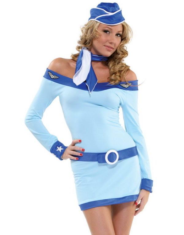 Venga Airline Hostess - Kostyme
