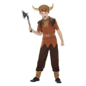 Viking Konge Barnekostyme - M