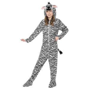 Zebra Barnekostyme Onepiece - M