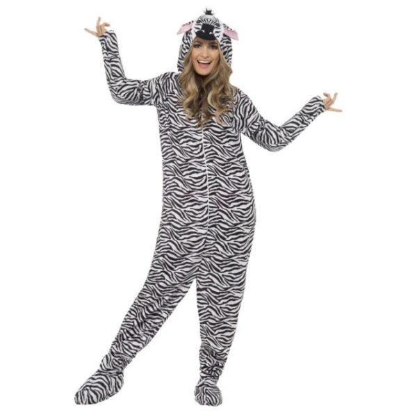 Zebra Kostyme Onepiece - M