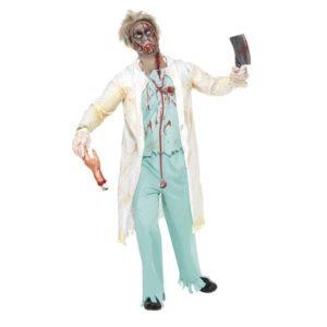 Zombie Doktor Kostyme - L