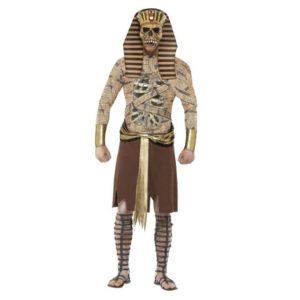 Zombie Farao Kostyme - L
