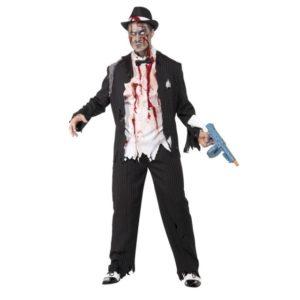 Zombie Gangster Kostyme - L
