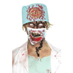 Zombie Kirurg Kostymesett