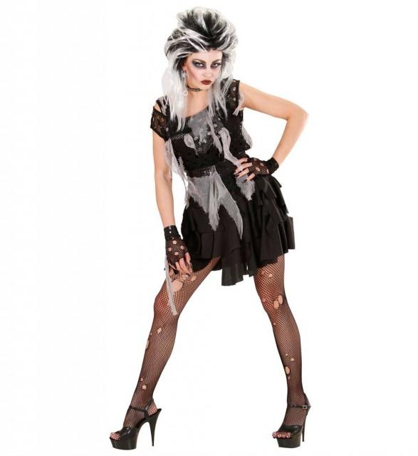 Zombie Punker Kostyme XL