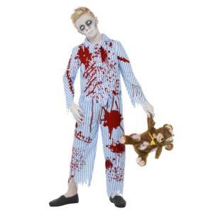 Zombie Pyjamas Gutt Kostyme - M