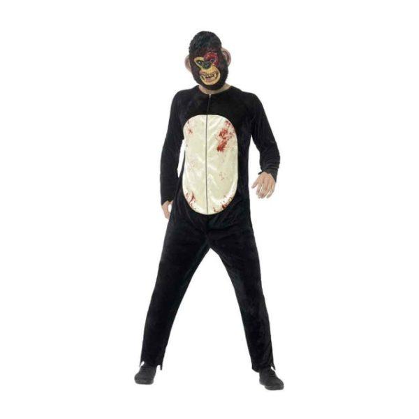 Zombie Sjimpanse Kostyme M