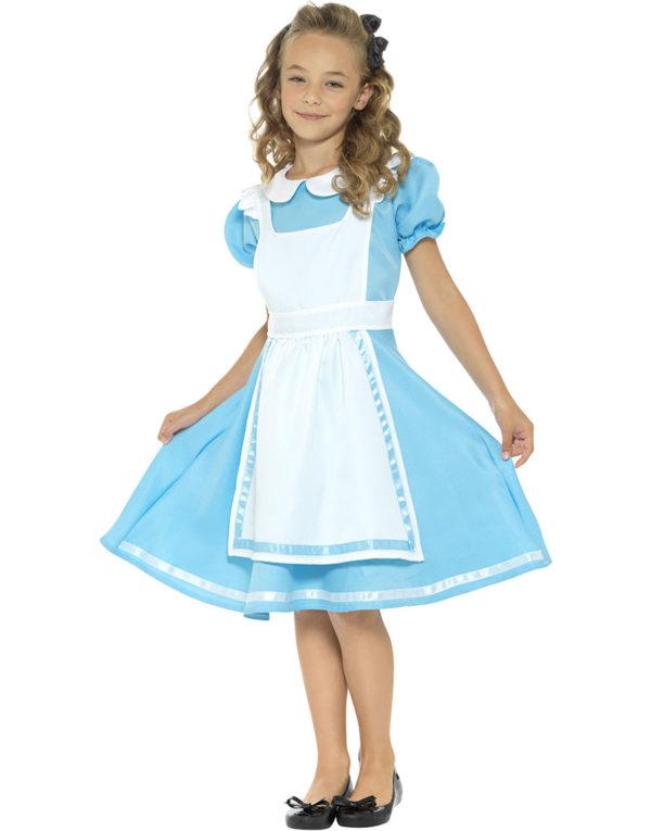 Alice i Eventyrland Inspirert Barnekostyme