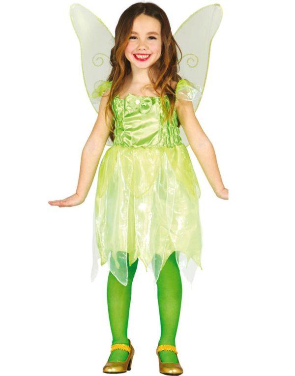 Den Grønne Lille Feen Barnekostyme