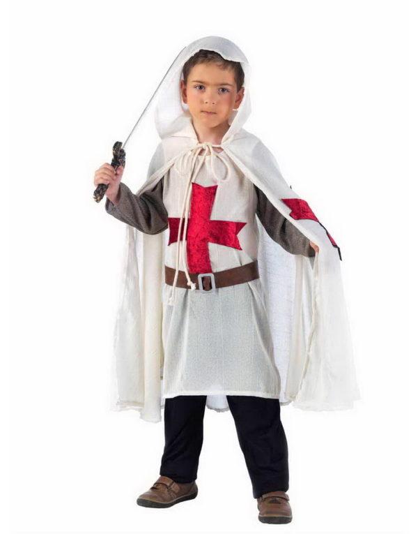 Den Hvite Ridder - Luksus Barnekostyme