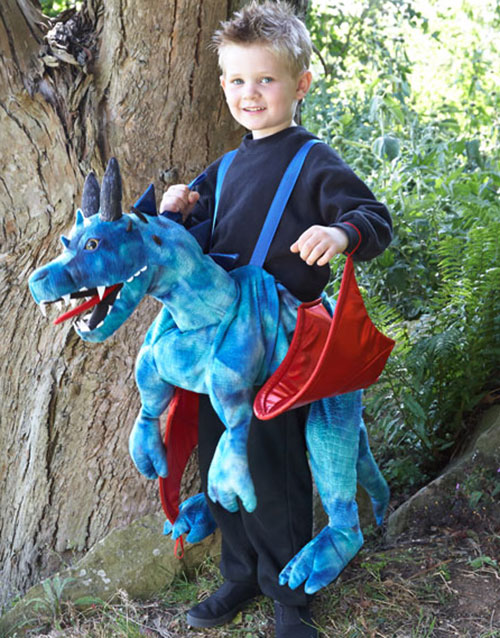 DrageRytter-Kostyme til Barn