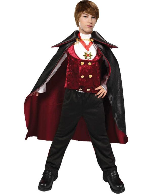 Grev Dracula Junior Barnekostyme