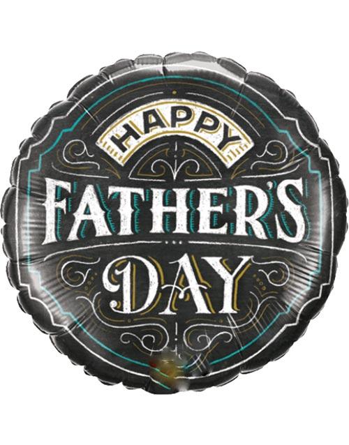 Happy Fathers Day Folieballong 46 cm