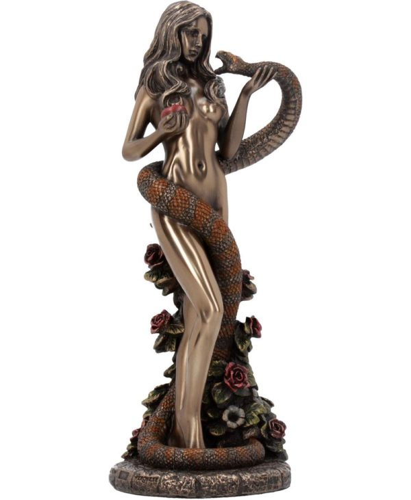 James Ryman Original Sin - Eva Figur med Eple og Slange 20 cm