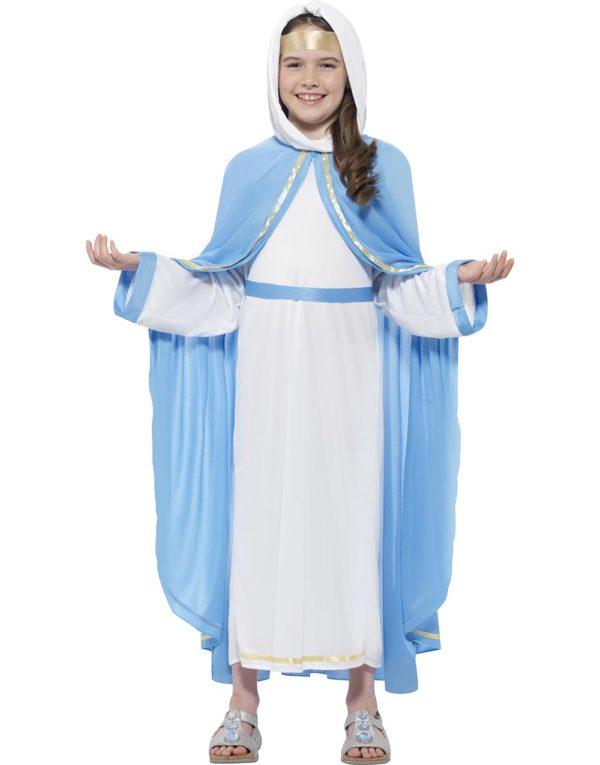 Jomfru Maria Barnekostyme 4 Deler