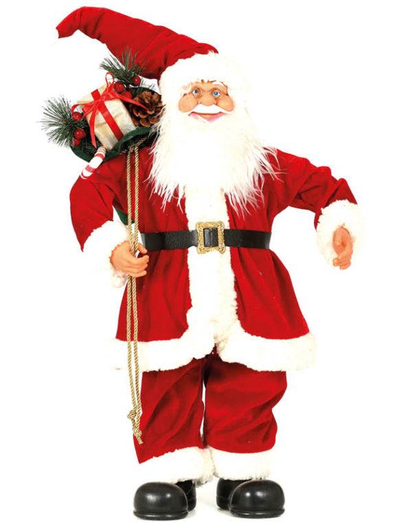 Julenissefigur med Gavesekk 60 cm